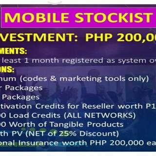 Mobile stockist