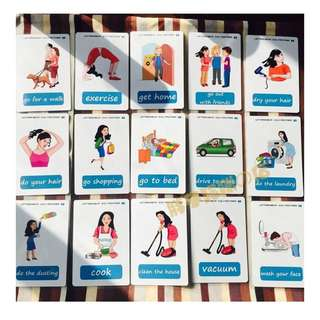 ✌️ 🌈DAILY ROUTINES🌈FLASH CARDS(41PCS)