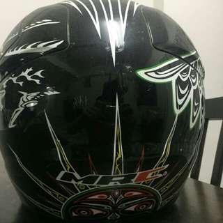 Swap atau jual Helmet scrambler scrembler MRC second fullface