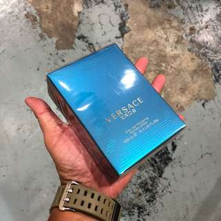 Authentic Versace Eros Perfume 100ml Brand New In Box! Limited Stock First Come First Served 😎👍