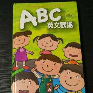 ABC英文歌謠(附CD)風車圖書