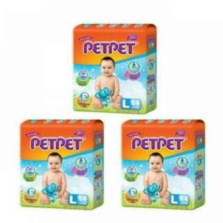 Pet Pet Mega Tape 3 pack