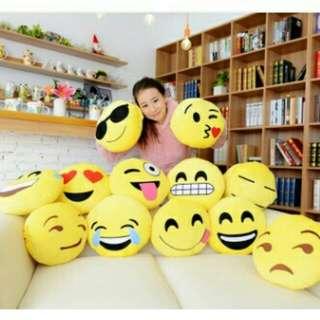 Emoji's Pillow Assorted design