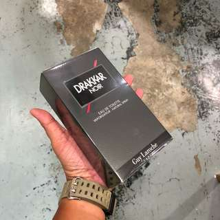 Authentic Guy Laroche Drakkar Noir Perfume 200ml Brand New In Box! Limited Stock First Come First Served 😎👍