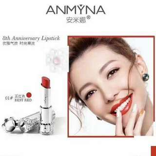 BRAND NEW ANMYNA limited edition red lipstick