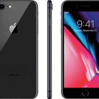 Iphone8+ 各色齊全256gb 全新未開封