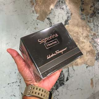 Authentic Salvatore Ferragamo Signorina Misteriosa EDP Perfume 100ml Brand New In Box! Limited Stock First Come First Served 😎👍