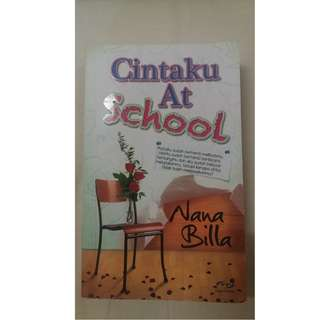 NOVEL MELAYU: CINTAKU AT SCHOOL