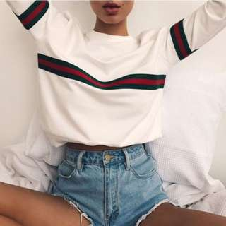 Gucci Style Sweater