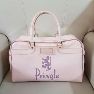 英國PRINGLE淺粉色大保齡球包