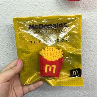 McDonalds French Fries Nano Block