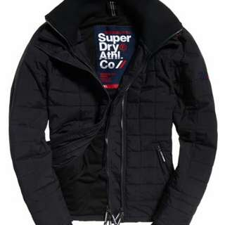 Supredry-Quilted Athletic SD-Windcheater Jacket