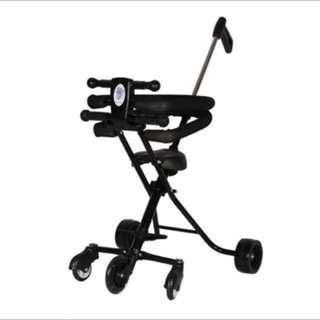 Portable Folding Children's Baby Trolley Stroller (Ready Stock)