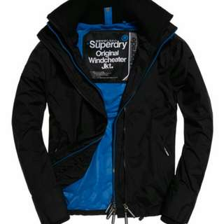 Supredry-Pop Zip Windcheater Jacket