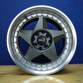 velg mobil HSR RC34 ring 15 racing