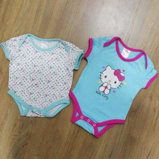 Hello Kitty Romper (0-3m)