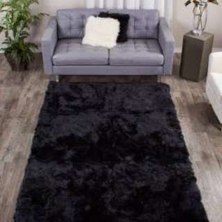 FAUX FUR CARPET 6x6
