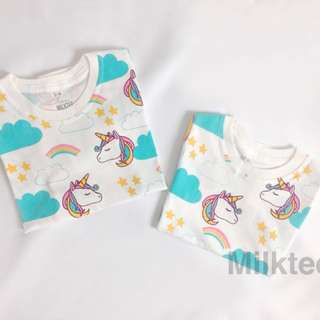Kaos untuk anak-anak umur 1-12