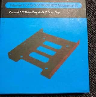 "Internal 2.5"" to 3.5"" SSD/HDD mounting Kit"