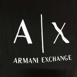 A | X Armani ladies black shirt
