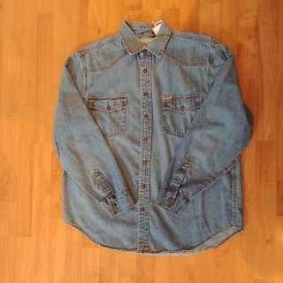 Levis Denim snap button shirt