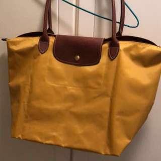 Longchamp tote bag L size
