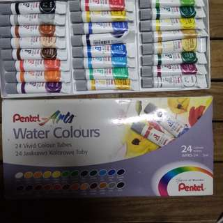 Pentel Water Colours