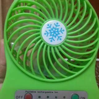 🚚 Rechargeable fan