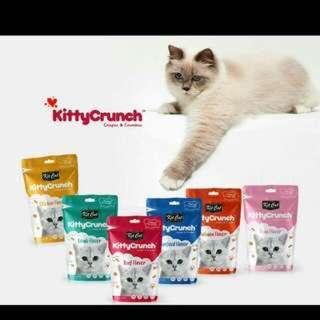 (5 for $10.00)Kit Cat Crunch Cat Treats