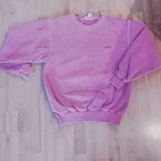 Women's Vintage Washed Crew Neck (SM)