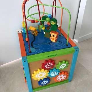 Activity cube from imaginarium
