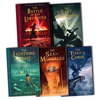 [EBOOK] Percy Jackson & The Olympians Series by Rick Riordan