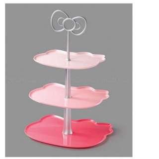 7-11 心愛加甜 甜品架 Sanrio 2012 Hello Kitty & Friends Sweet Delight Dessert tray