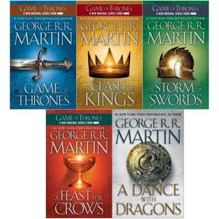 [EBOOK] A Song of Ice and Fire Series (Game of Thrones) by George R.R. Martin