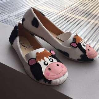 A.C.C.E.P.T Flatshoes Cow / Flats Sapi