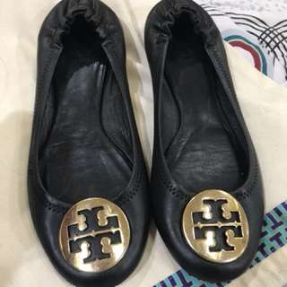 Authentic Tory Burch Black Reva