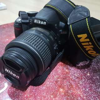 (Nego) Nikon D3100 with 18-55mm lens