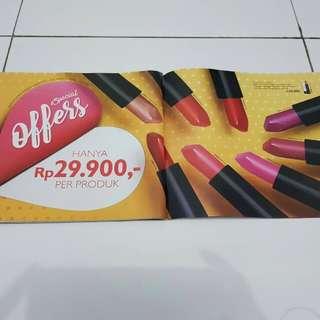 Oriflame lipstick / oriflame lipstik