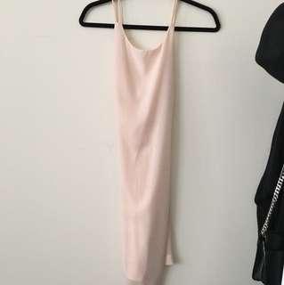 Never worn XSmall Zara Cross-back dress