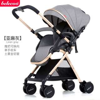 Belecoo Two Way Baby Stroller