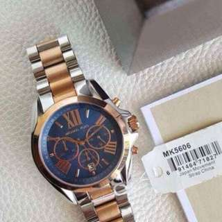 Authentic MK Bradshaw Chronograph watch for unisex