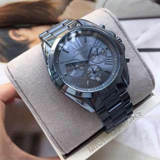Authentic MK Bradshaw Chronograph Navy Blue Dial Men's watch
