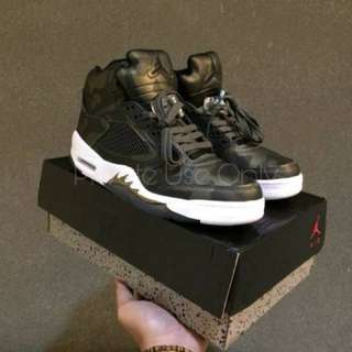 Air Jordan 5 Metallic Camo Heiress Girls
