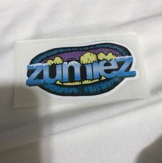 Zumiez sticker laptop phone sticker