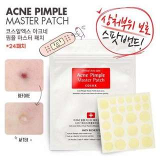 [Instocks] CosRx Acne Master Pimple Patch