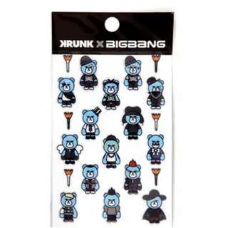 [SALE] BIGBANG X KRUNK ARTTOY STICKER