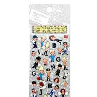 [SALE] BIGBANG ARTTOY STICKER