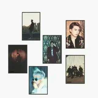 BIGBANG10 POSTCARD SET (2 TYPES)