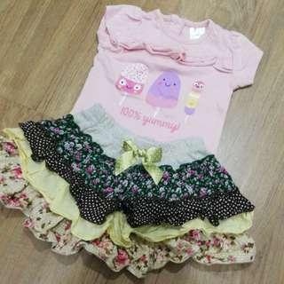 Baby Girl Skirt Set (0-3m)