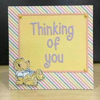 (Bear) Thinking of you (card)